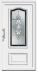 сколько стоит входная дверь со стеклом